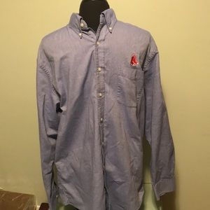 Land's End Boston Red Sox button down